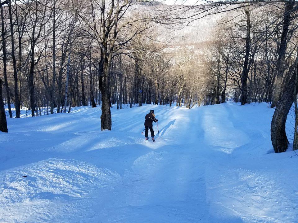 Mont Sutton - Souvenir d'un printemps écourté et de magnifiques conditions