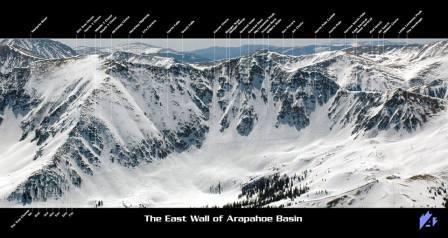 Arapahoe Basin Colorado avril 2017