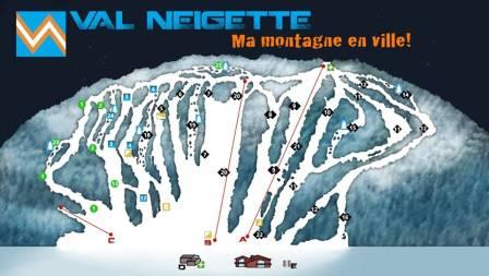 Centre de ski alpin Val Neigette Condition de Ski RSA