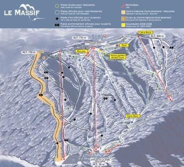 Massif Charlevoix Conditions de ski RSA