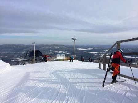 Bromont Montagne D Expériences - Des conditions magnifiques