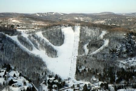 Mont Gabriel Condition de Ski RSA