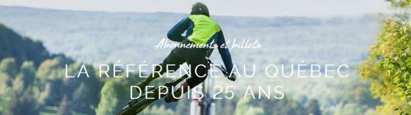 Bromont montagne d'expérience - Ouverture des pistes de vélos samedi 19 mai