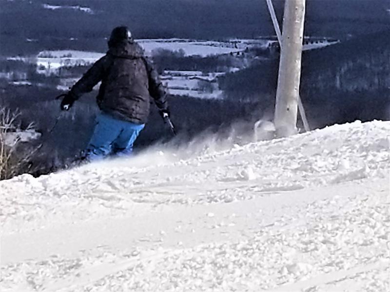 Bromont, montagne d'expérience reçoit une belle bordée