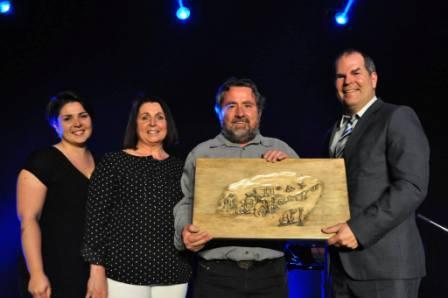 ASSQ - Le prix Réal-Boulanger remis à Germain Barrette du Mont-Comi