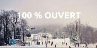 La Bordée d'or - Parc Du Mont Saint Mathieu - Mont Grand Fonds - Parc Du Mont Comi - Ski Saint Bruno - Premières stations ouvertes à 100% au Québec