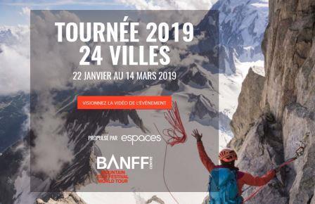 Tournée Mondiale Du Festival Du Film de Montagne DE BANFF