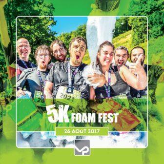 Vallée Du Parc - Le 5K Foam Fest Fun Run est de retour