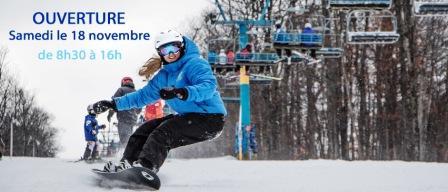 Ouverture des stations de ski en ce 18 novembre 2017