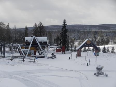 Mont Gleason conditions de ski RSA