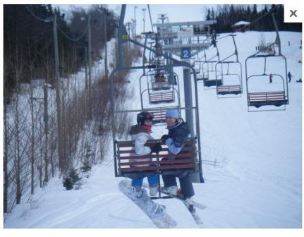 Mont Saint Raymond Conditions de ski RSA