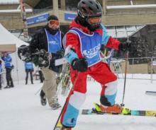 Mont Sainte-Anne; Relevez le plus gros défi sportif et caritatif. Conditions de ski RSA