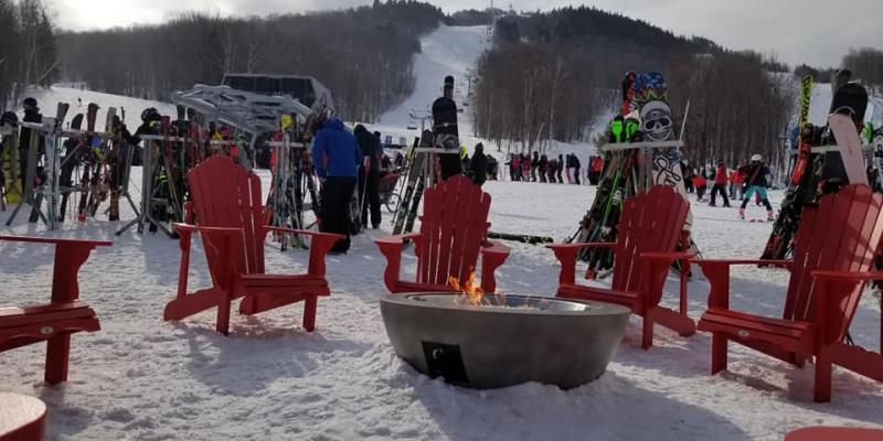 Owl's Head - Très belle expérience ski.