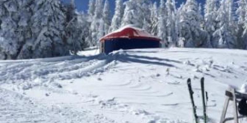Massif du Sud - Ce qui résume les conditions de ski presque parfaites