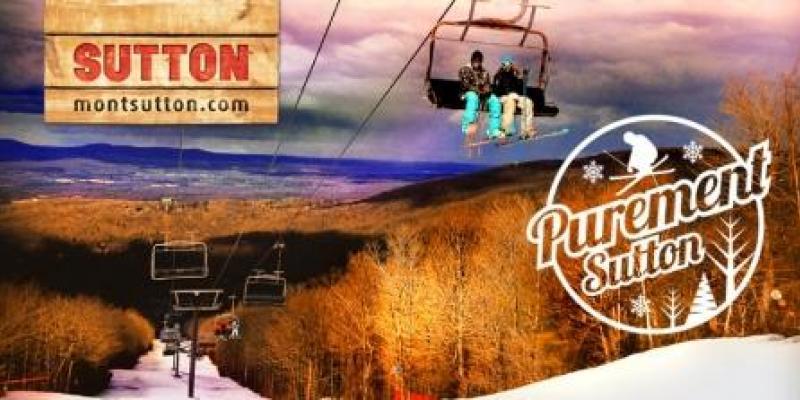 MONT SUTTON - Du ski de printemps pour ce samedi 21 avril...
