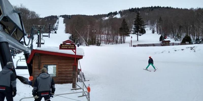 Mont Sutton - Du ski de printemps en février