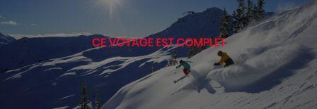 Voyage de ski Whistler complet