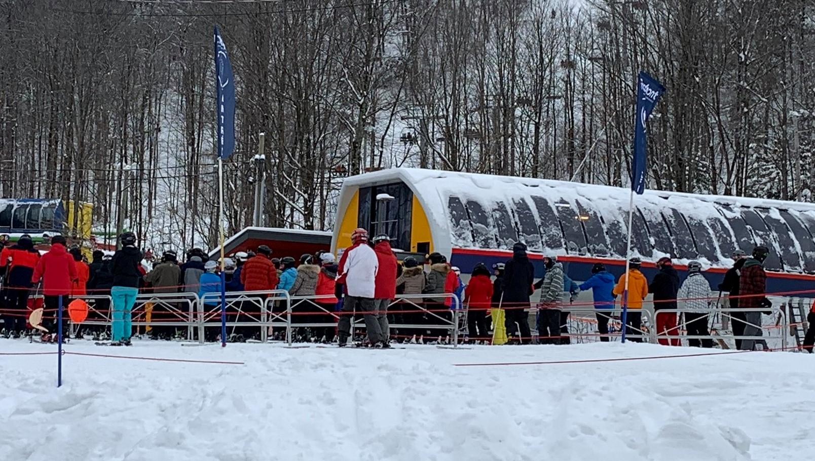 Bromont - Il y a toujours moyen de faire du beau ski à cette montagne