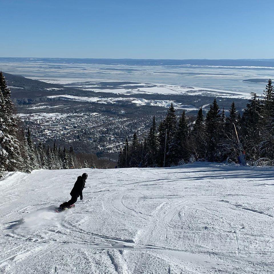 Mont Ste Anne - Des conditions de glisse parfaites et une montagne exra