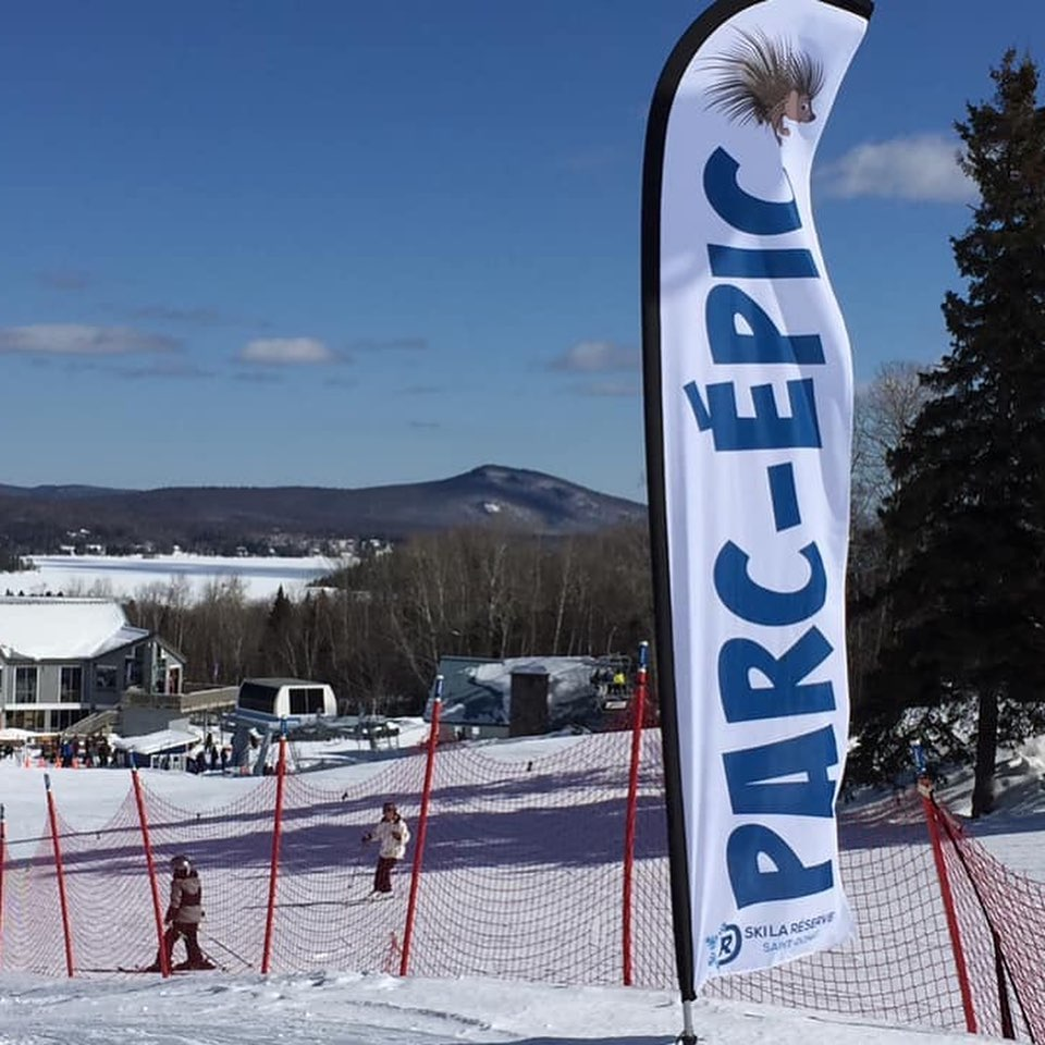 La Réserve - Dénivelé parfait  pour tous types de skieurs et planchistes