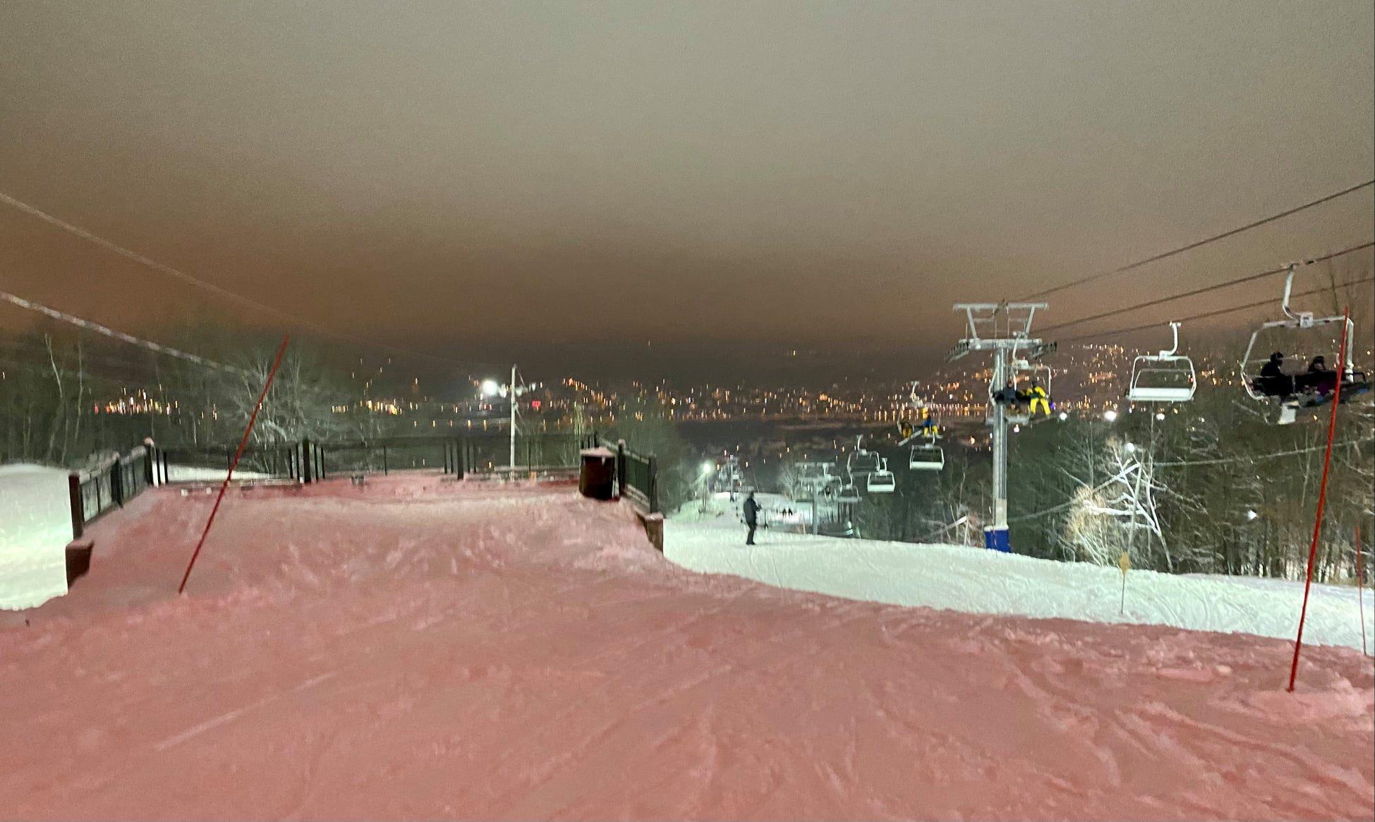 2 janvier 2021 au Parc du Mont-Bellevue - Sherbrooke