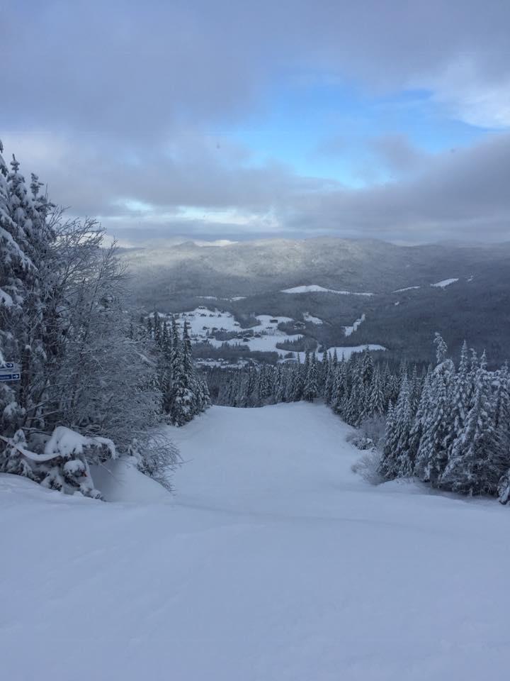 Le Valinouet - Des conditions parfaites! Ici pas besoin de canons à neige seul la nature suffit,,!