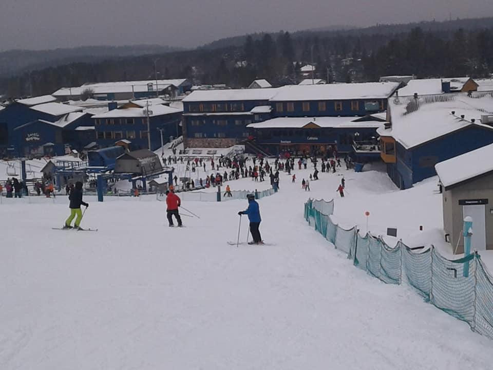 Mont Blanc - Les skieurs étaient nombreux à profiter des conditions de neige
