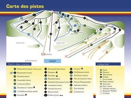 Mont Orignal Conditions de Ski RSA
