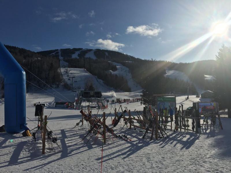 Mont Edouard - De la neige ... À vous d'en tirer profit...