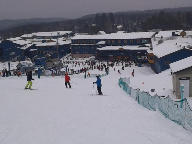Mont Blanc - Les skieurs étaient nombreux à profiter des conditions de neige#