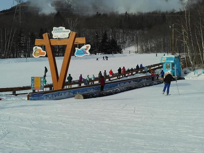 Mont Ste-Anne - Bon ski et bon accueil pour débuter l'année