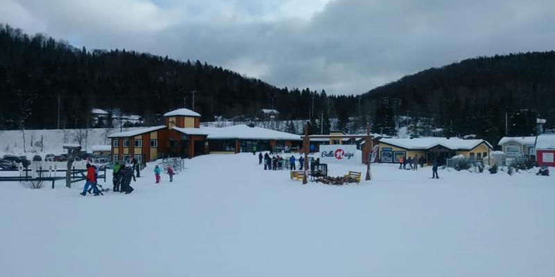 Belle neige - Belle journée hivernale