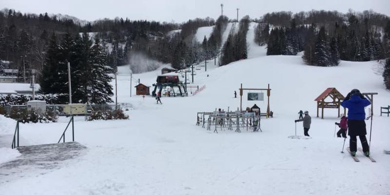 Belle neige 8 decembre 2019